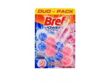 bref power aktiv parfum ruzove kvety wc zaves gulicky 2 x 50 g