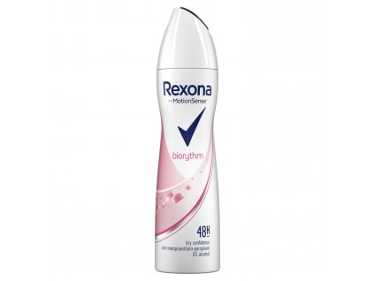 damsky antirespirant rexona biorythm dry fresh 150 ml