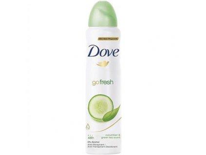 dove sprej damsky anti perspirant go fresh uhorka zeleny caj 150 ml