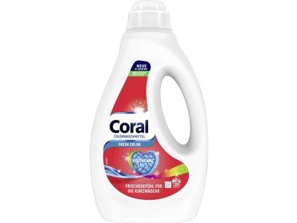gel na pranie coral express fresh color shine tech 1 1 l 22 prani