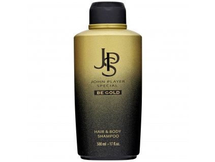 john player special be gold pansky vlasovy a telovy sampon 500 ml