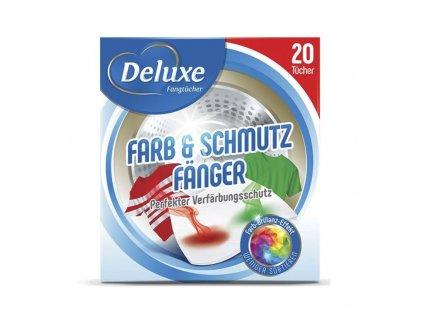 obrusky na zachytavanie farieb do pracky deluxe farb schmutzfangtucher 24 ks