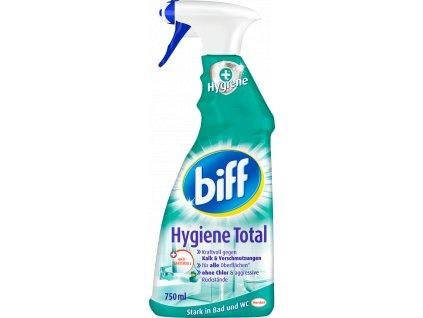 biff hygiene total hygiene dezinfekcny cistiaci prostriedok na kupelne a wc 750 ml