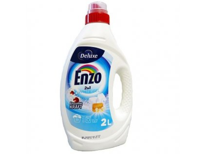 gel na pranie enzo 2 in 1 white gel 2 l 50 prani