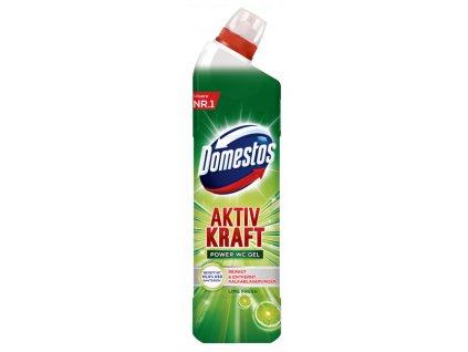 cistiaci prostriedok domestos aktiv kraft lime fresh wc gel zeleny 750 ml