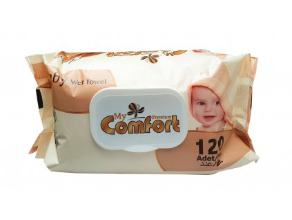 comfort premium argan baby vlhcene obrusky 120 ks