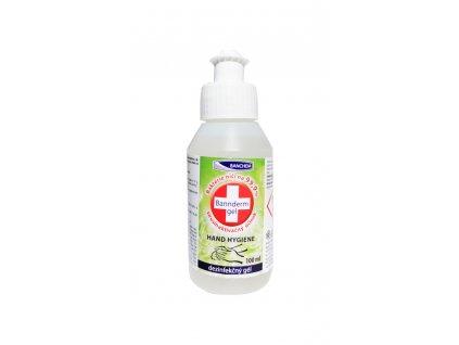 antibakterialny antivirusovy gel na ruky bannderm gel 100 ml