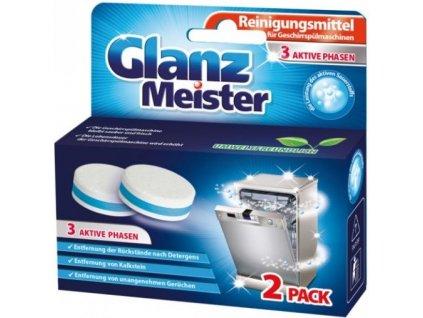 cistiace tabletky do umyvacky riadu glanz meister 2 ks balenie