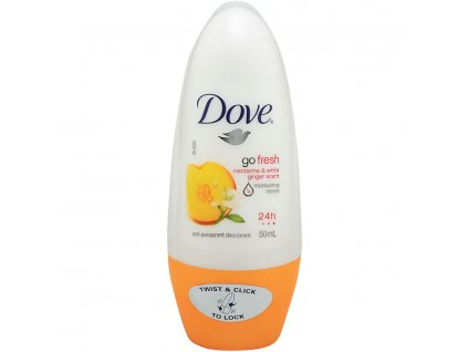 dove damsky anti perspirant go fresh nektarinka zazvor roll on 50 ml