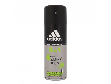 Adidas 6 in 1 anti perspirant 150ml