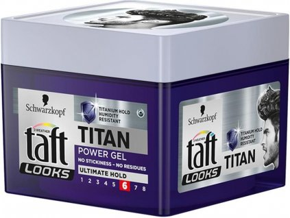 Taft Titan Power gél na vlasy 250 ml