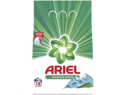 Ariel Moutaing Spring prášok na pranie 2kg 20PD
