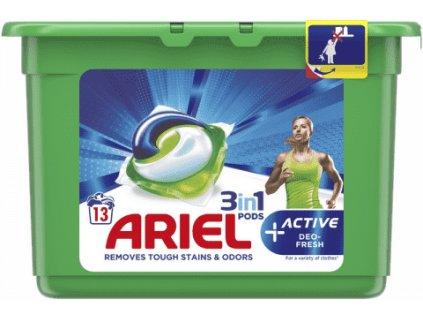 Ariel All in1 Active+ gélové kapsule 13ks