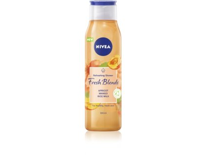 nivea fresh blends apricot mango rice milk osviezujuci sprchovy gel