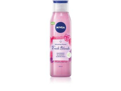 nivea fresh blends raspberry blueberry almond milk osviezujuci sprchovy gel