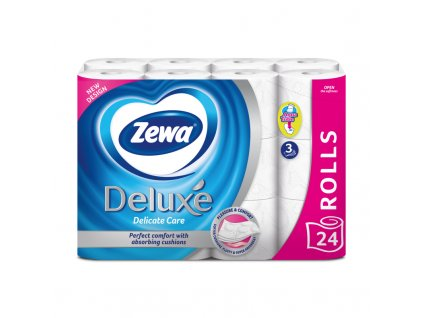 Zewa Deluxe delicate care 24ks