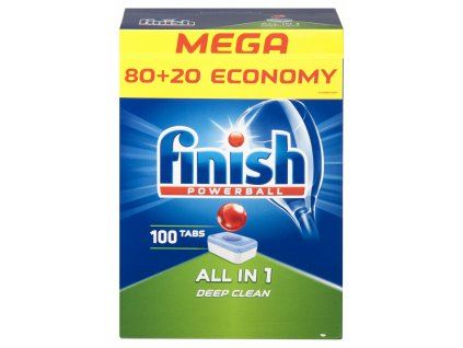 Finish All in 1 Deep clean tablety do umývačky 100ks