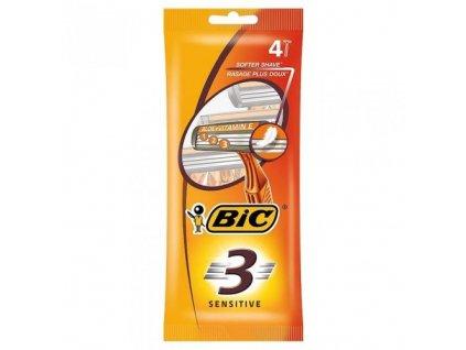 BIC RASOIO SENSITIVE 3 LAME USA GETTA 4 PZ big 195 173