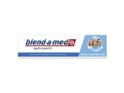 Blend a med Anti Cavity Famili Protection zubná pasta 100ml