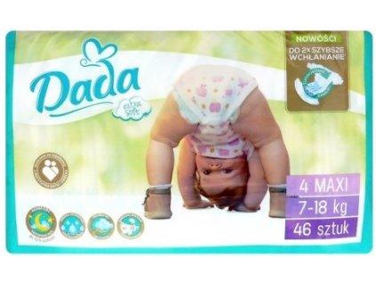 Dada Extra Soft Maxi 4 Eko plienky 46ks 7 18kg