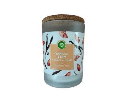 12666 air wick essential oils vanilka sladke mandle vonna sviecka 185g