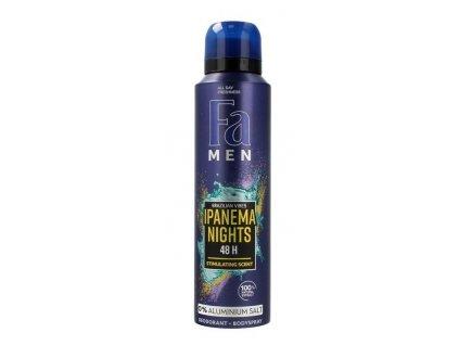 fa men ipanema nights dezodortant spray meski 150 ml 6419410