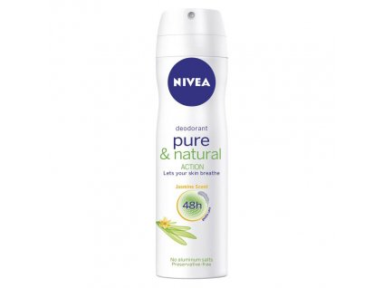 vyr 10352Nivea Pure Natural deodorant 150ml