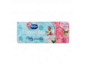 Perfex Cotton Like Baby Powder Big Roll toaletný papier 10ks 3vrst.