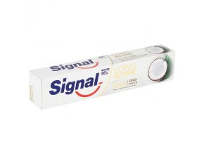 Signal Long Active Nature Elements Coco White zubná pasta 75 ml
