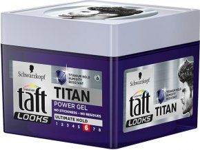Taft Titan Power gél na vlasy 250 ml