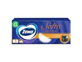 Zewa Deluxe papierové hygienické vreckovky 10 x 10 ks