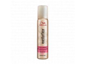 wellaflex style repair starker halt haarspray mini grosse halt 3 75 ml