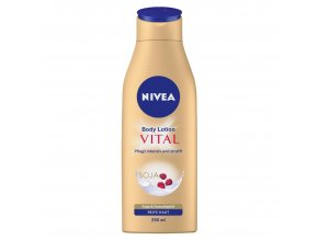 nivea vital rich body lotion 1 x 250 ml