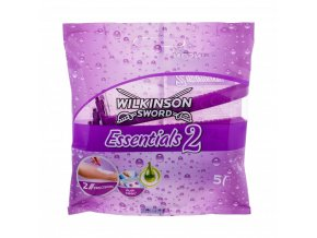 wilkinson sword essentials 2 holiaci strojcek pre zeny 5 ks 261230