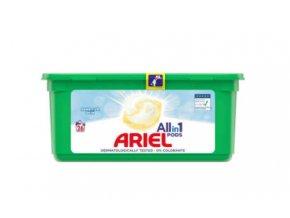 Ariel Sensitive Skin gélové kapsule 26ks