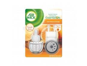 Air Wick Anti Tobacco elektrický osviežovač + náplň 19ml