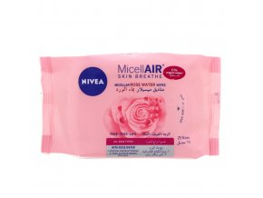 vyr 10523Nivea Micellair Skin Breathe Micellar Rose Water Wipes 25 Wipes 1473168 01