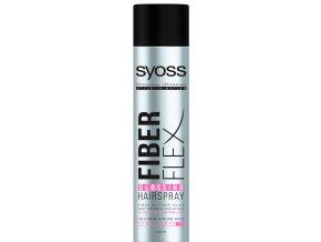 Syoss FiberFlex Glossing lak na vlasy 400ml