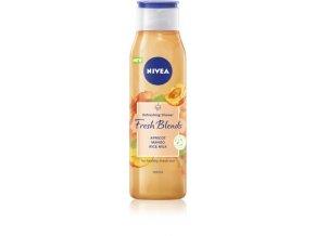 nivea fresh blends apricot mango rice milk osviezujuci sprchovy gel