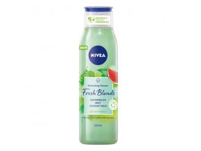 nivea fresh blends watermelon shower cream 300 ml 10 fl oz
