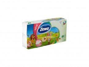 Zewa Kids Toaletný papier 3-vrstvový 8 ks