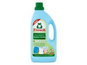 frosch power detergent active soda praci prostriedok