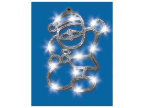 LED es akril ablakdisz Mikulas belteri i531339