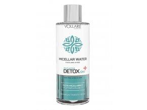 Detox bőrtisztito micellás arcvíz Q10 400ml Vollare 1 1