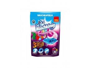 waschkonig kapsuly na pranie 30 ks 3v1 color