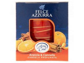 Felce Azzura Arancia & Cannella vonná sviečka 120g