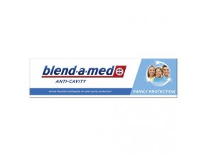 Blend a med Anti Cavity Famili Protection zubná pasta 100ml