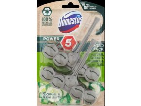 domestos power 5 eco cucumber 2x55g