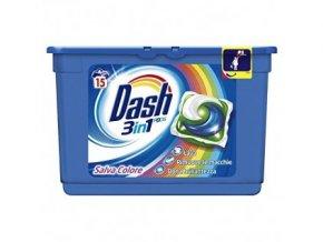 7070 kapsule na pranie dash 3 n 1 salva colore 15 ks