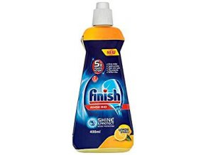 Calgonit Finish Shine & Dry Lemon, leštidlo do myčky 400 ml